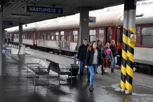 Trains, illustrative stock photo