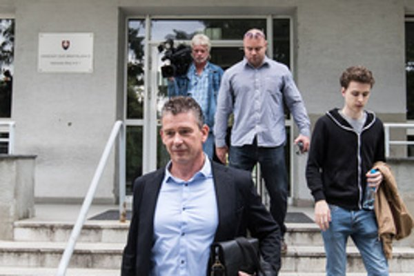 Roman Mikulec leaves the Bratislava court June 25.