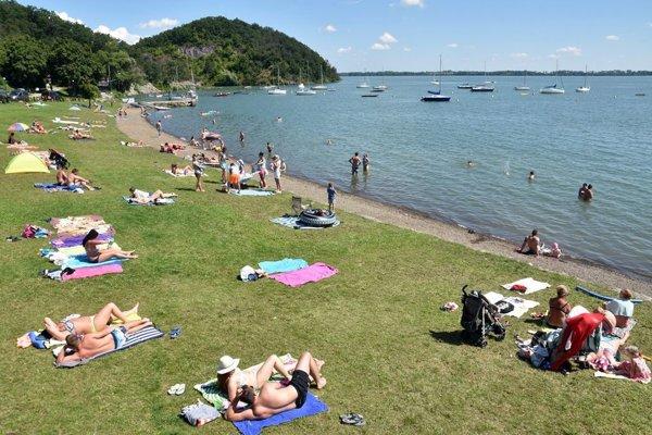 Zemplínska Šírava lake