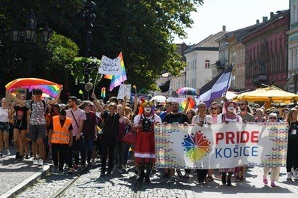 (Rainbowň Pride Košice, September 1, 2018.