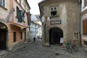 Rómer's house in Bratislava's Old Town