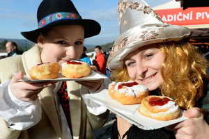 Šišky (doughnuts) in Krompachy