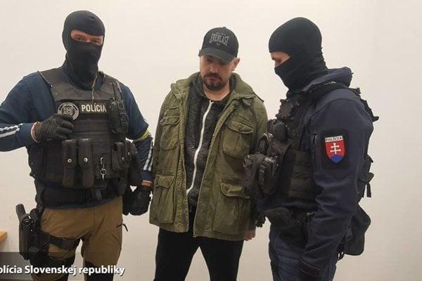 Vladimir G. arrested by the Slovak police.