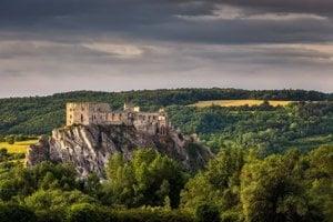 The Beckov Castle.