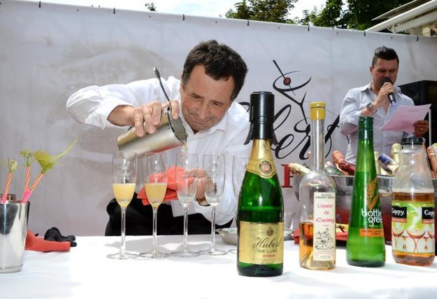 Rastislav Kubáň, winner of the Sect Cocktail category