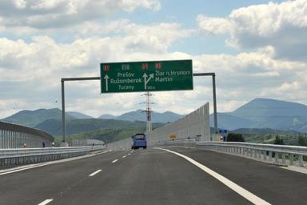 New D1-highway section was opened.