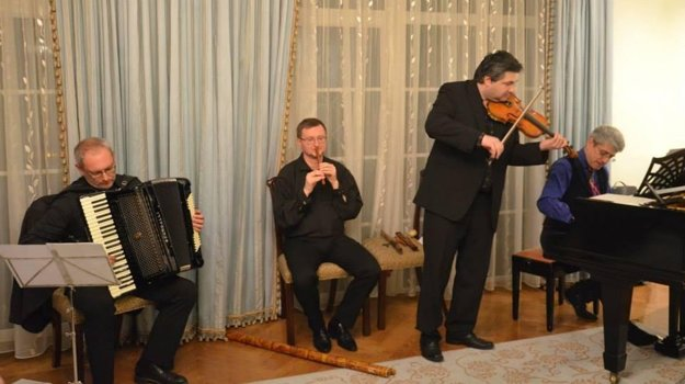 Concert of Pavol Breiner in the US residency