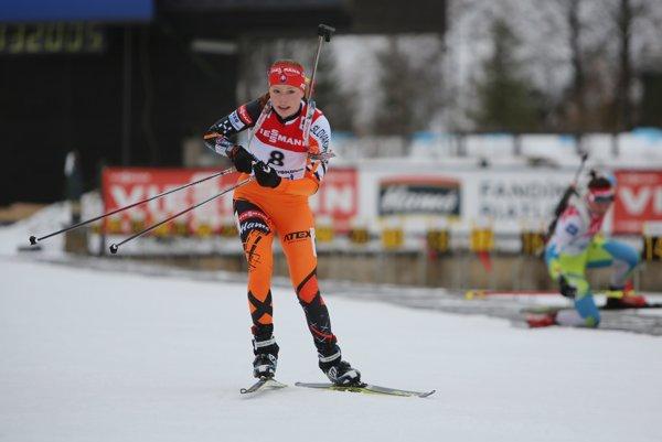 Biathlete Paulína Fialková