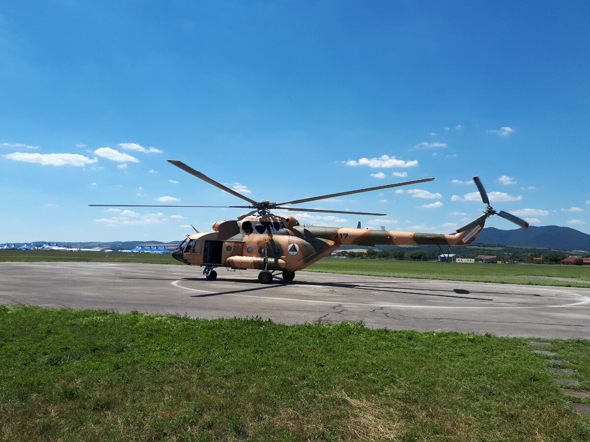 LOTN overhauls another Mi-17 helicopter for Afghanistan f02b7169658