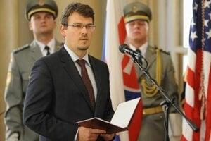 State Secretary of the Defence Ministry Róbert Ondrejcsák