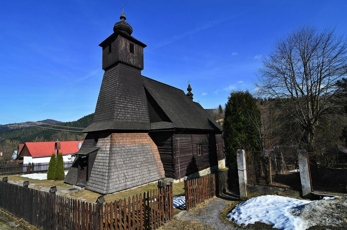 Wooden Church In Hraničné Is Unique In Slovakia Only One Other Is