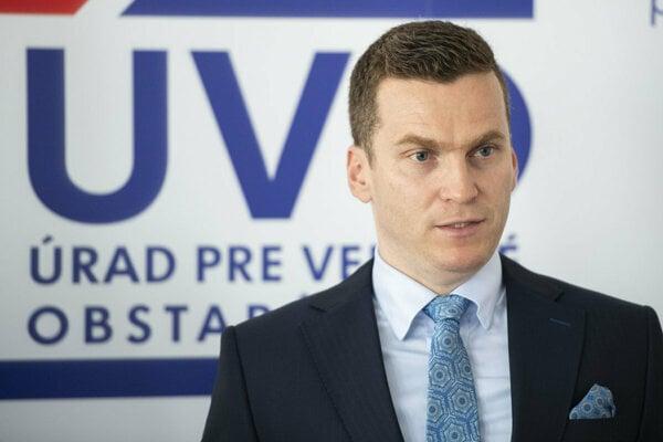 Head of the Office for Public Procurement Miroslav Hlivák