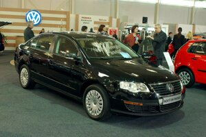 VW Passat in 2005