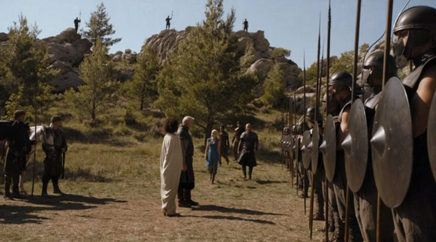 The journey to Meereen