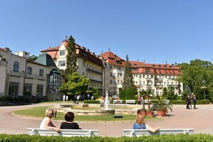 Thermia Palace in Piešťany was once the second best spa facility in Europe.
