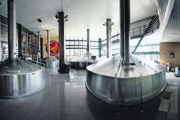 The Heineken brewery in Hurbanovo