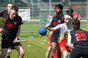 Pressburg Phantoms play against Southampton Quidditch in one of the quidditch tournaments.