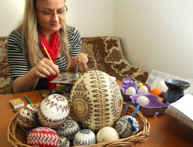 Preparations for Easter