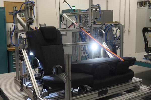 The car seat producer Adient runs a technology centre in Trenčín.