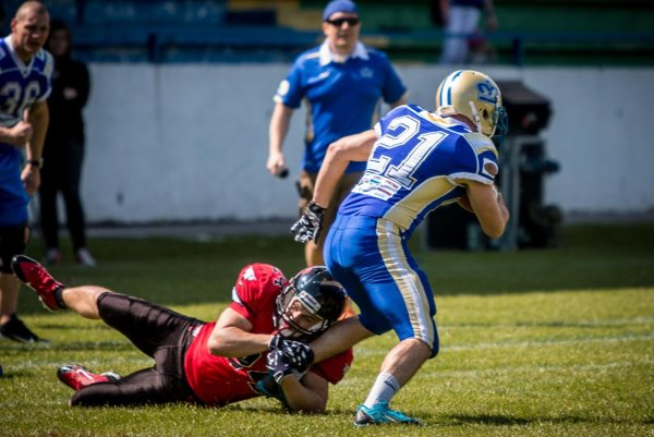American football in Slovakia.