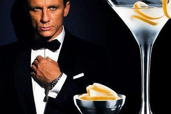 James Bond drink will be served, illutsrative stock photo