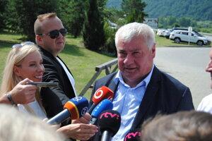 Transport Minister Árpád Érsek (Most-Híd)