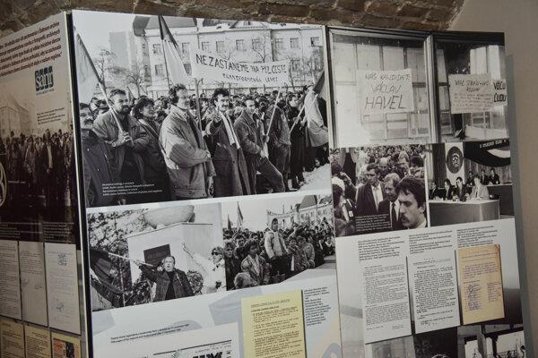 Exhibition in Bratislava
