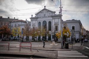 Velvet Revolution Square in Bratislava