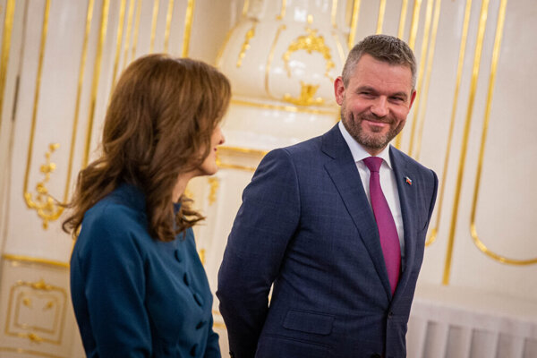 Andrea Kalavská and Peter Pellegrini.
