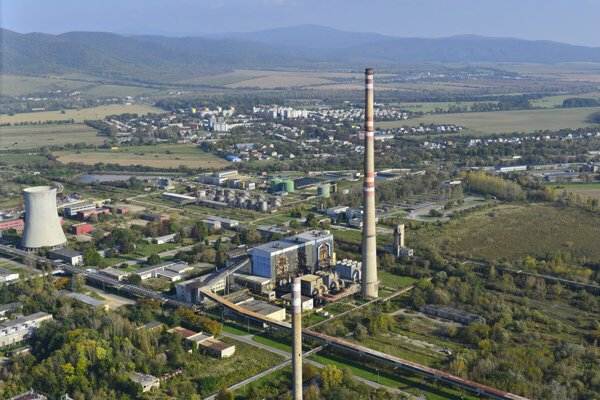 The industrial premises of the chemical factory Chemko Strážske are located on the border of the Prešov and Košice Regions.
