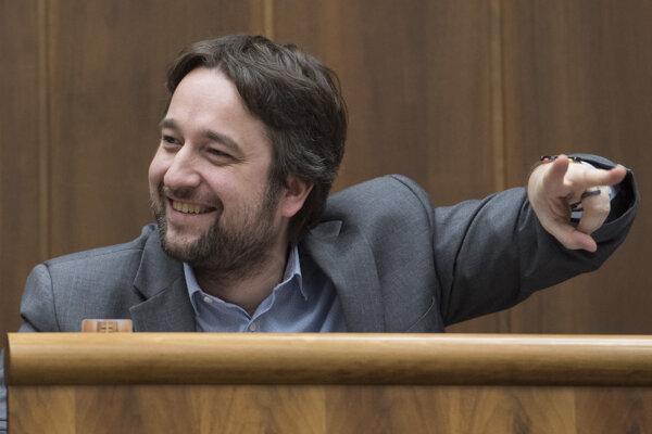 Smer MP Ľuboš Blaha.