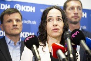 KDH MEP Miriam Lexmann.