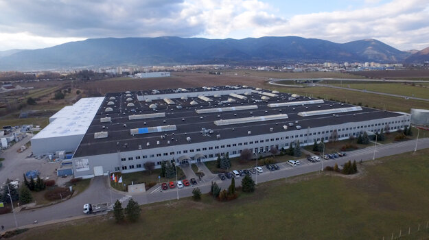 Volkswagen plant in Martin
