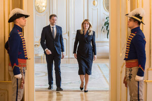 President Zuzana Čaputová received Igor Matovič, the prime-minister-to-be. Boris Kollár will reportedly be the third top constitutional official - as the parliament's speaker.