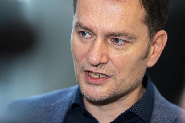 OĽaNO chair Igor Matovič.