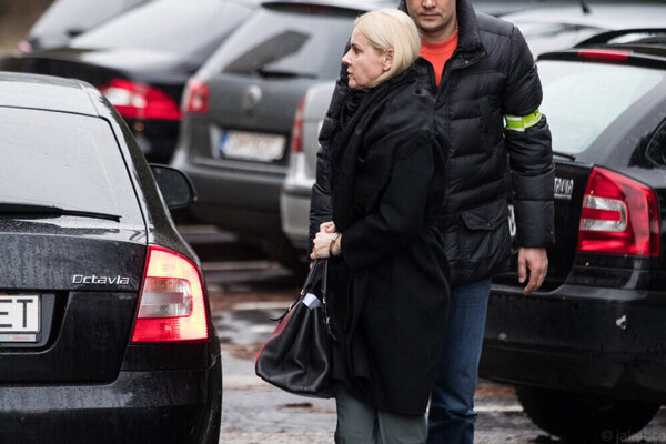 NAKA detains Monika Jankovská in March 2020.