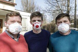 l-r: Samuel Furka, Dalibor Gallik and Daniel Furka.