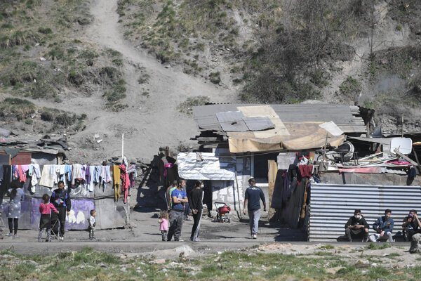 One of the Roma settlements closed due to the coronavirus is Bystrany.