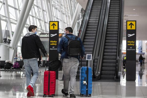The airport in Bratislava reopened.