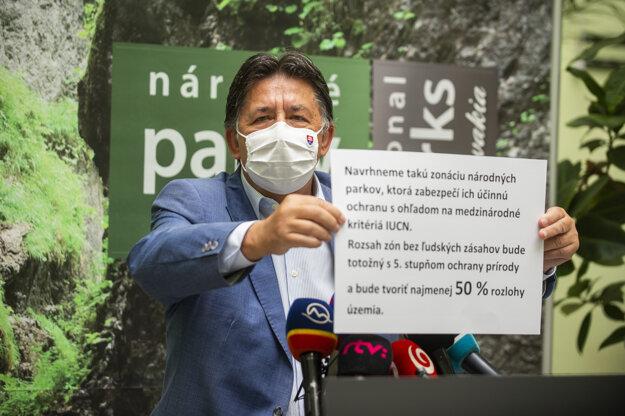 Environment Minister Ján Budaj