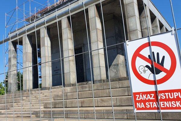 Slavín, largest war memorial in central Europe undergoing complex restoration.