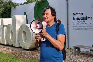 Architecture historian Peter Szalay