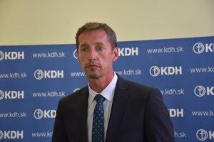 New KDH chair Milan Majerský
