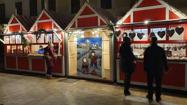 ÚĽUV stalls on Main Square