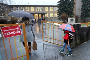 Some schools, including those in Banská Bystrica, opened on February 8.