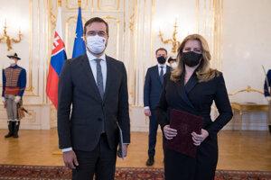 President Zuzana Čaputová accepted the resignation of Health Minister Marek Krajčí on Friday, March 12.