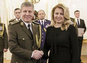 Vladimír Lengvarský and President Zuzana Čaputová