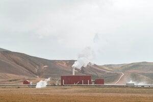 Geothermal powerplant in Iceland