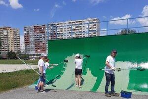 Volunteers in Bratislava