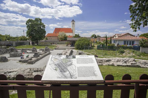 Ancient Gerulata Museum in Rusovce